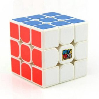Harga MoYu Cubing Classroom MoFangJiaoShi MF3RS 3x3 Speed Magic Cube Puzzle Brain Teasers, White - intl