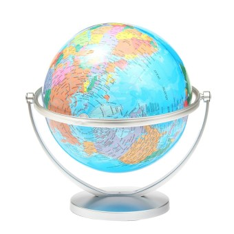 WORLD GLOBE Rotating Swivel Map of Earth Atlas Geography - intl Price Philippines