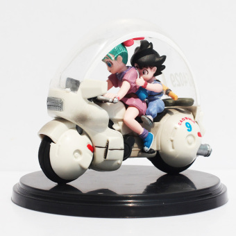 8cm Goku Son Bulma Motorcycle Super Saiyan Dragon Ball Z Action Figures Collection Gift Model Toy Price Philippines