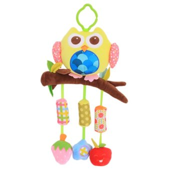 Harga Yingwei Baby Stroller Bell Wind Chimes Bed Baby Toys for Kids Cute OWL