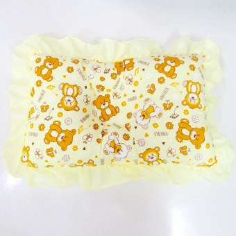 Harga Pixiefy Bear Newborn Baby Pillow (Yellow)