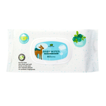 Harga Little Tree Baby Wipes (MOUTH & HANDS) 80 WIPES