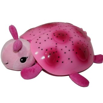 Harga Night Light Twilight Ladybug (Pink)