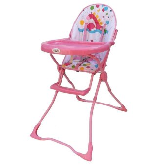 Baby Angel High Chair (Giraffe Pink) Price Philippines