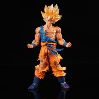 Dragon Ball Z Super Collection Son Goku Anime Manga Figurine Toys(Yellow) - Int'l - intl Price Philippines