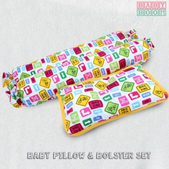Baby Boom Bickford Collection 3 Piece Baby Pillow and Bolster Set Price Philippines