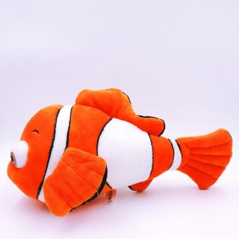 30CM Cute Nemo Clownfish Plush Toy Fully Stuffed Fish Dolls Anime Cartoon Finding Nemo Soft Kids Baby Toys - intl Price Philippines