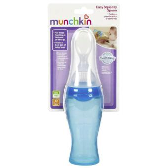 Munchkin Easy Squeezy Spoon (Blue) Price Philippines