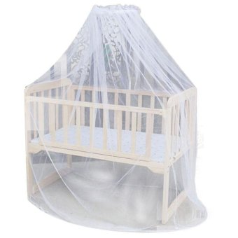 Hot Selling Baby Bed Mosquito Mesh Dome Curtain Net for Toddler Crib Cot Canopy - intl Price Philippines
