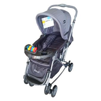 Baby 1st Stroller with Reversible Handle and Rocking Feature S-036CR, GREY Price Philippines