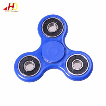 Tri Spinner Fidgets Toy Plastic EDC Sensory Fidget Spinner For Autism and ADHD Kids/Adult Funny Anti Stress Toys (Blue) Price Philippines