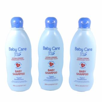 Baby Care Plus Blue Baby Shampoo Set of 3 200mL Price Philippines