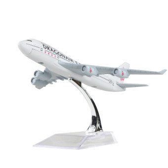 Hong Kong Dragon Airlines Boeing 747 16cm airplane child Birthday gift plane models toys Christmas gift Price Philippines