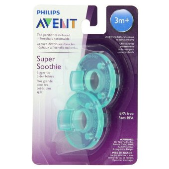 Philips Avent - Soothie Pacifier, Green, 3+ Months, Pack of 2 Price Philippines