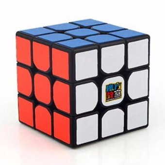Harga MoFang JiaoShi MF3RS 3x3x3 Rubik's Cube Brain Teasers Speed Magic Cube Puzzles MF8810 Black Body