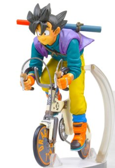 Dragon Ball Z Figures The Monkey King Goku PVC Action Figure Collection Model Toy Monkey ride bike Action Figure 16CM Price Philippines