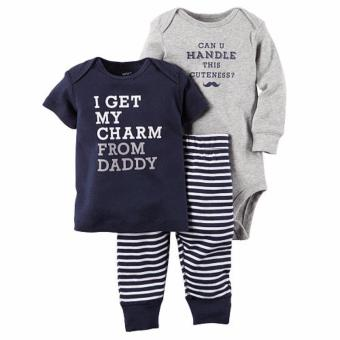 Harga Carter's 3-piece Set - Charm From Daddy