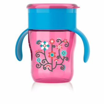 Harga Avent My First Big Kid Cup, 9oz/260ml - Pink Flowers