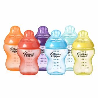 Tommee Tippee Closer to Nature Fiesta Bottle, 9 Ounce/260 ml, 6 Count Price Philippines