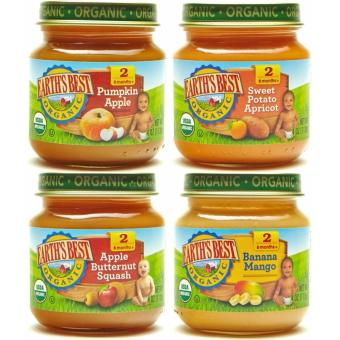 Earth's Best Organic Baby Food Assorted Vegetables Variety Pack (4 Jars) Price Philippines