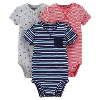 Harga Carter's 3-Pack Bodysuits - Airplanes (9 Months)