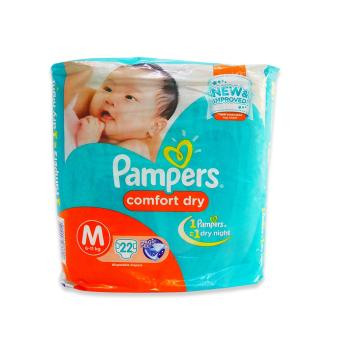 Harga Pampers Diaper Comfort Dry Medium 22's 720212 1's