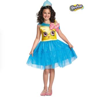 Harga Shopkins Cupcake Queen Girls Costume