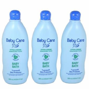 Baby Care Plus Blue Baby Bath Set of 3 300mL Price Philippines