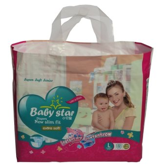 Baby Star New Slim Fit Diaper Large 32's Price Philippines