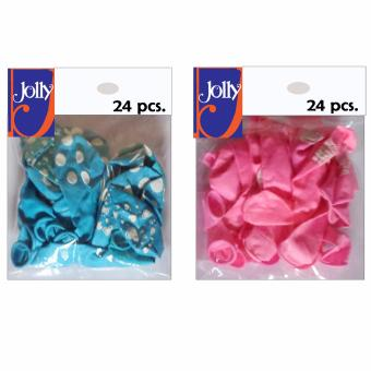 Harga Happy Birthday Balloons 24`s Sky Blue & 24`s Pink