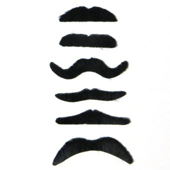 Harga Costume Party Halloween Fake Mustache Funny Fake Beard COOL - intl