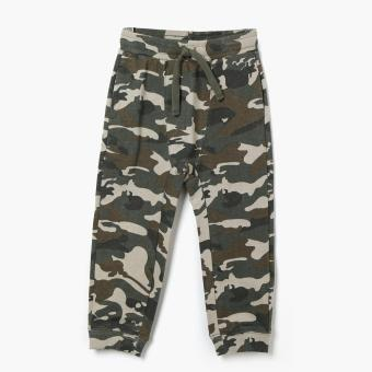 Harga Just Jeans Boys Camouflage Jogger Pants (Green)