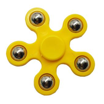 Harga Fidget Gyro Spinner starfish design ( yellow)