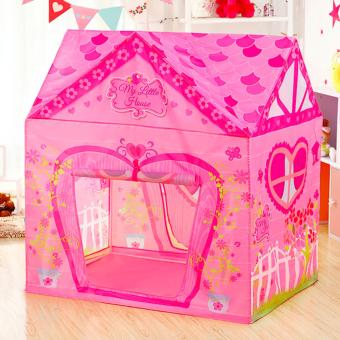 Lovely Pink House Portable Kids Tent - intl Price Philippines