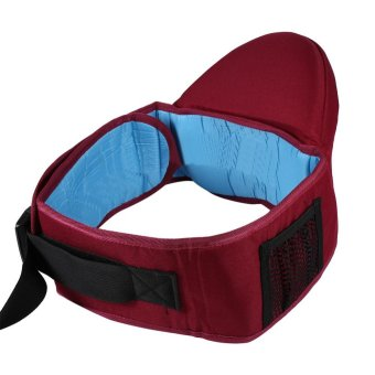 1Pc Adjustable Infant Toddler Front Carrier Walkers Baby Waist Belt Hold Hip Seat (#2 Burgundy) - intl Price Philippines