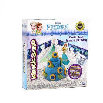 Harga Spinmaster Kinetic Sand Frozen Ann's Birthday Clay
