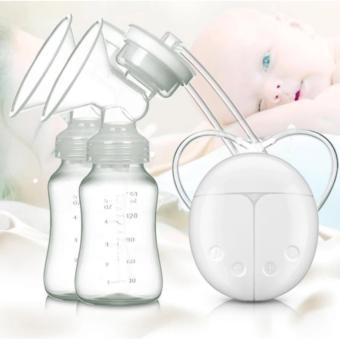 Harga Tickle RH228 Mother Manual Double Electric Breast Pump (White)