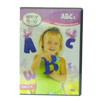 Harga Brainy Baby ABCs VCD Series (New Packaging)