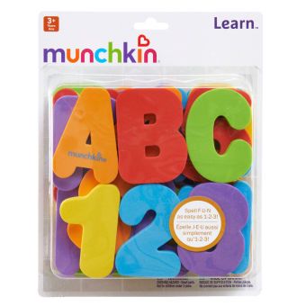 Munchkin Bath Letters and Numbers (Multicolor) Price Philippines