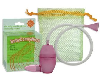 Baby Comfy Nose Nasal Aspirator (Pink) Price Philippines