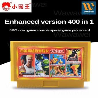 Wawawei 8 bit game cartridge classical game card 400in1 no repetition games for FC video game console Price Philippines