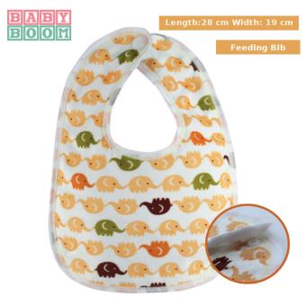 Baby Boom Feeding Bib for Babies and Toddlers (Orange) Price Philippines