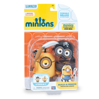 Harga Minions Deluxe Figure Build-a-Minion Pirate/Cro-Minion