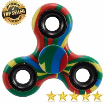 Tri Fidget Hand Finger Spinner Tri-Spinner Spin Widget Focus Toy 2 (Multi Color) Price Philippines