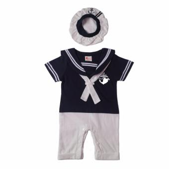 Harga Sailor Romper (Navy Blue) For Baby 12 to 18 Months Old