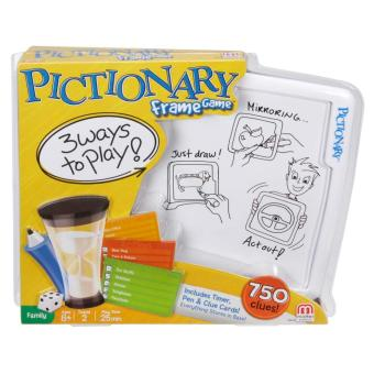 Mattel Games Pictionary Frame Game Price Philippines