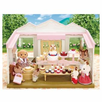 Harga Sylvanian Families Village Cake Shop With Toy Poodle Mother