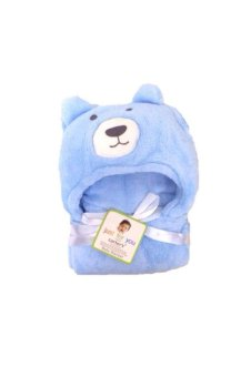 Bear Hooded Blanket (Blue) Price Philippines
