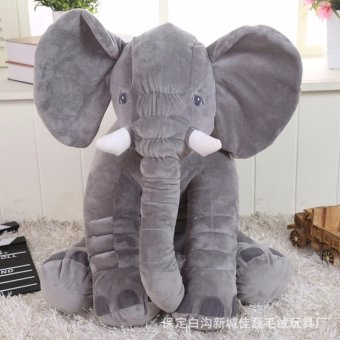 60cm Kids Baby Long Nose Elephant Super Soft Short Plush Doll Toy Baby Sleep Cushion Pillow Toys - intl Price Philippines