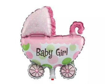 Harga Its a Girl Stroller Foil Balloon